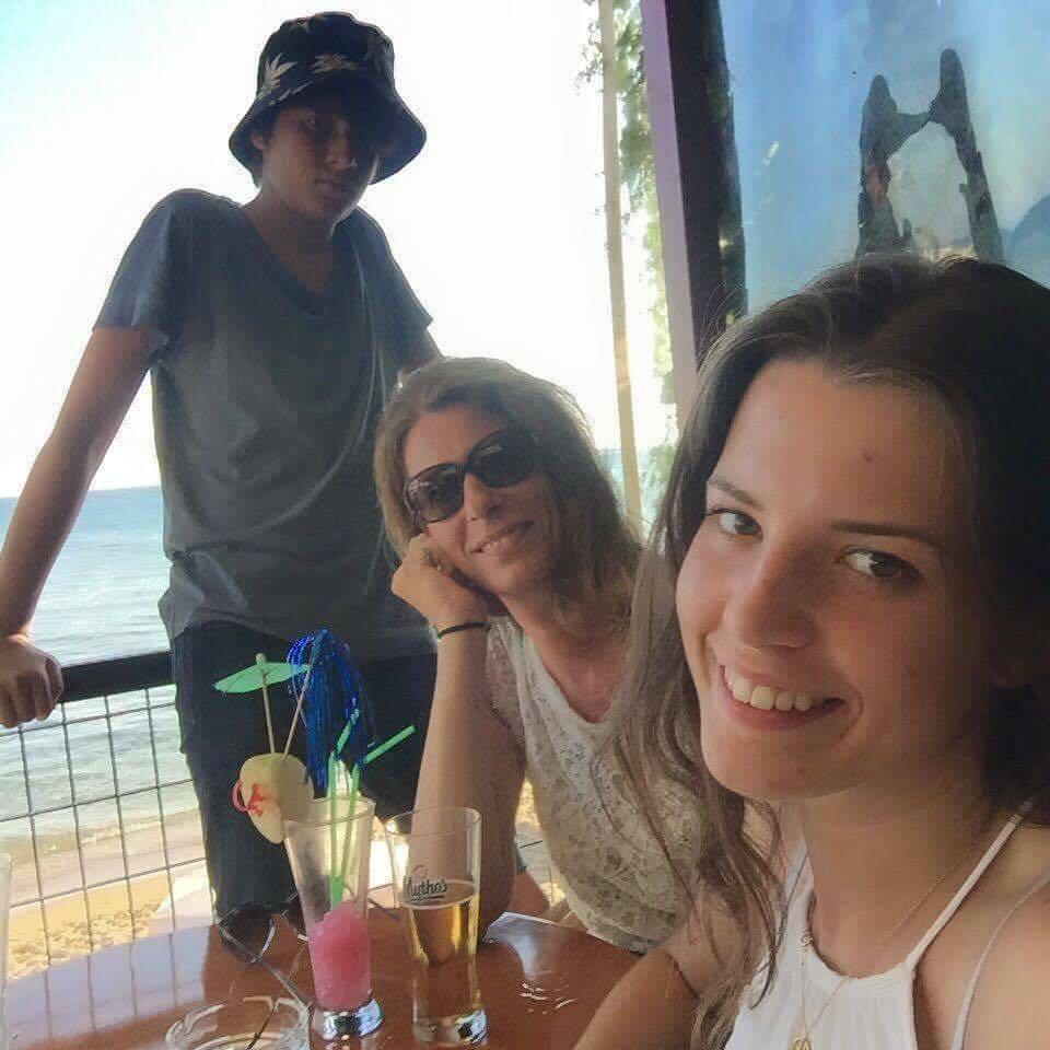 Min familie og andre dyr på Korfu