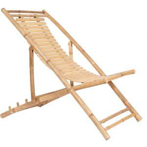 bambus solstol - www.interiorflirt.dk